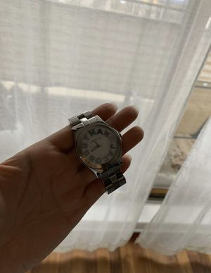 Marc Jacobs silver hardware watch - great condition for Sale in Chicago, IL