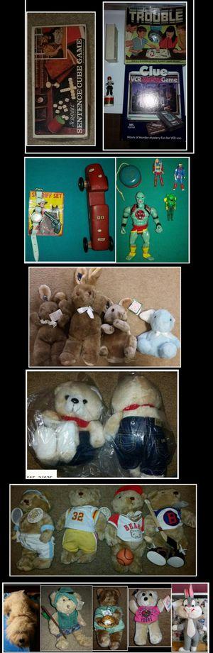 Vintage Toy/Games/Plush Dolls Collection for Sale in Garner, NC