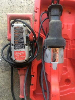 Saw zall and Hole Hawg Drill for Sale in San Francisco, CA