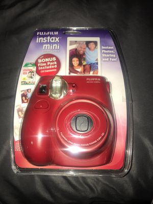 Polaroid camera, brand new never used or opened, comes with film and a white case for Sale in Surprise, AZ