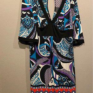 Torrid back slit dress 2x women's fashionable clothing for Sale in Oregon City, OR