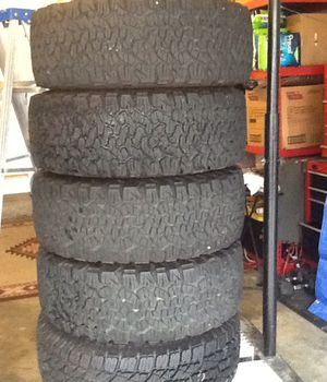 Jeep wrangler and chevy wheels for Sale in Stockton, CA