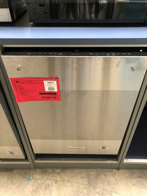 BRAND NEW Stainless Steel KitchenAid Dishwasher 1 Year Manufacturer Warranty Included for Sale in Gilbert, AZ