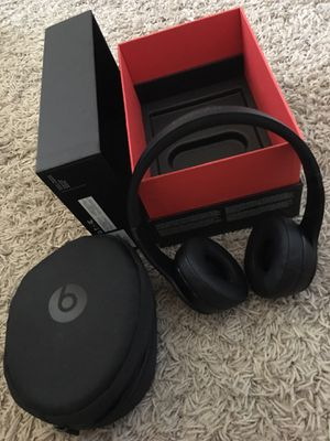 Beats solo 3 wireless headphones for Sale in North River, ND