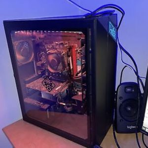 HP OMEN Obelisk gaming desktop computer I7-8700 CPU @ 3.2GHz 16GB Ram Gtx 1060 + 60hz monitor+ mouse for Sale in Moorhead, MS