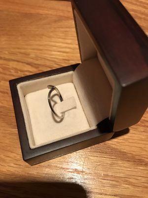 Wedding ring platinum for Sale in Rockville, MD