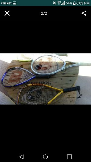 4 tennis rackets for 30 for Sale in Phoenix, AZ