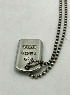 Tiffany dog tag necklace need gone asap for Sale in Phoenix, AZ