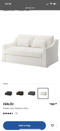 Farlov Sleeper sofa Purchased In January for Sale in St. Louis,  MO