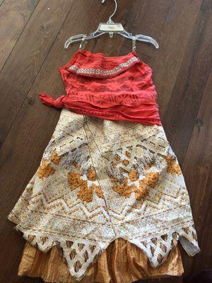 Disney Moana costume - tween small 7/8 - like new for Sale in AZ, US