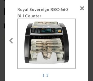 Royal Sovereign RBC 660 Bill counter for Sale in Miami, FL