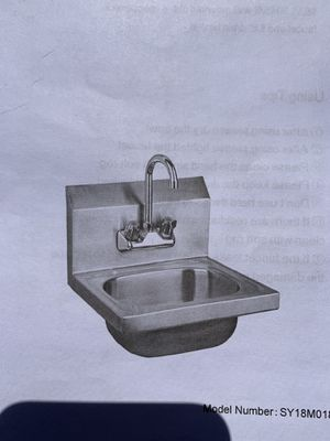 Stainless steel hand sink for Sale in Riverside, CA