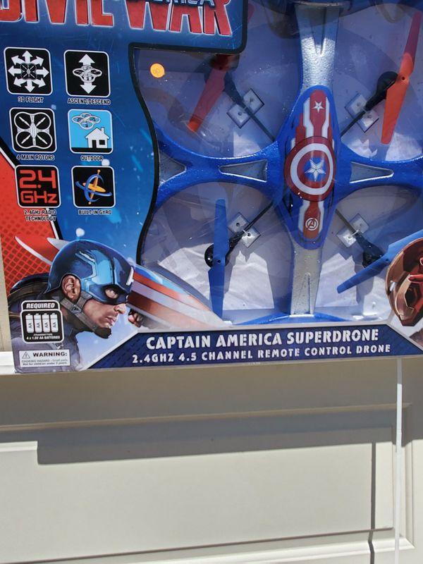 Marvel captain America giant drone