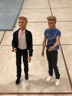 Ken Doll Barbie (2 dolls) for Sale in Takoma Park, MD