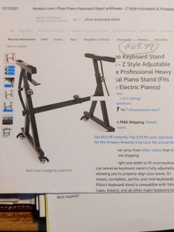 Brand New Never Opened Keyboard Stand Z Stand Piano for Sale in Seattle,  WA