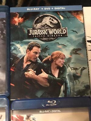 Jurassic World Fallen Kingdom Blu-ray DVD for Sale in Gardena, CA