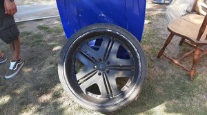22 inch 5 lug rims for Sale in South Gate, CA