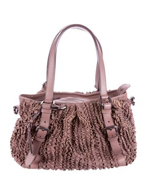 Authentic Burberry Ruffled Lowry Bag for Sale in Rockville, MD