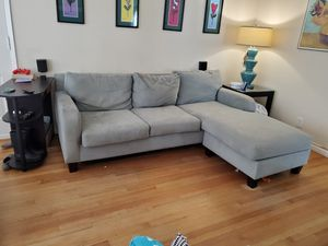 Sofa with chaise for Sale in Los Angeles, CA