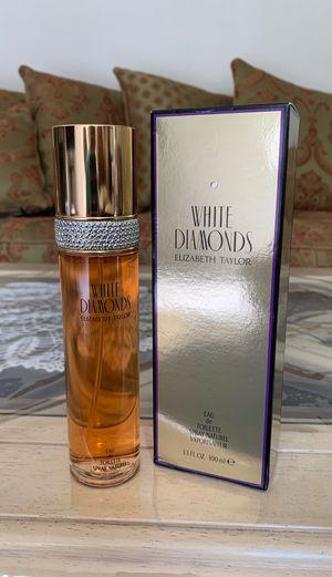 Elizabeth Taylor Perfume White Diamonds for Sale in Turlock, CA