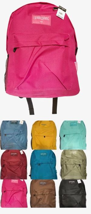 Brand NEW! Regular Size Backpacks, Variety of Colors For School/Traveling/Everyday Use/Work/Gym/Hiking/Gifts $8 EACH! for Sale in Carson, CA