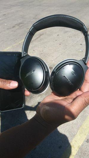 Bose studio headphones $150 for Sale in Dallas, TX