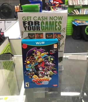 Shantae - Nintendo Wii U for Sale in San Bernardino, CA