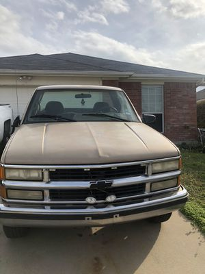 1995 Chevrolet 2500 long bed Not a cab V8 for Sale in Grand Prairie, TX