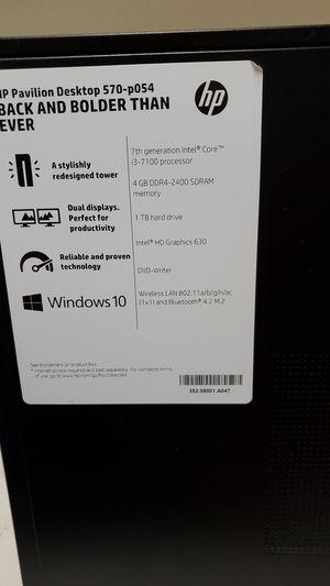 HP Pavillion desktop for Sale in Denver, CO