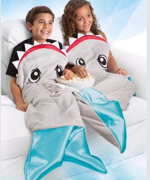 Snuggie tail shark blanket for Sale in Killeen, TX
