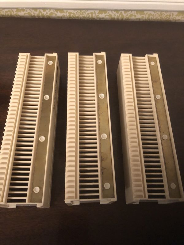 Slide Projection Trays