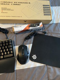 Gaming Keyboard ,mouse And Mousepad Bundle for Sale in La Habra,  CA