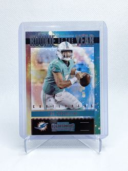 2020 Contenders Tua Tagovailoa Contenders Rookie of the Year #RY-TTA RC Dolphins X2 for Sale in Spring Valley,  CA
