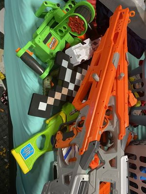 Nerf gun lot for Sale in Richland, WA