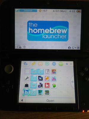 Modded Nintendo 3ds xl, 16GB SD card, no charger for Sale in Pittsburgh, PA