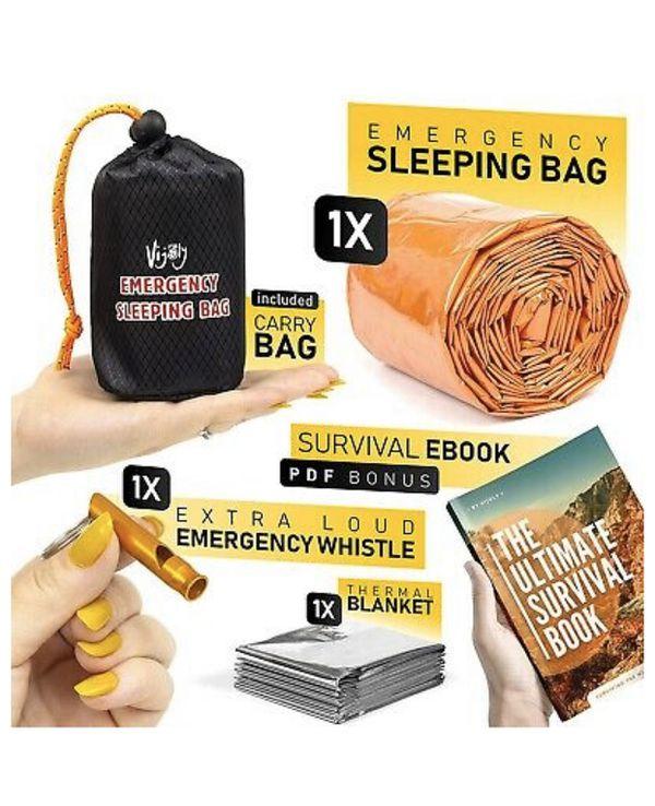 Emergency sleeping bag / survival blanket / Survival sleeping bag / waterproof