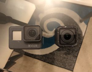 Gopro hero 5 and hero session for Sale in Humble, TX