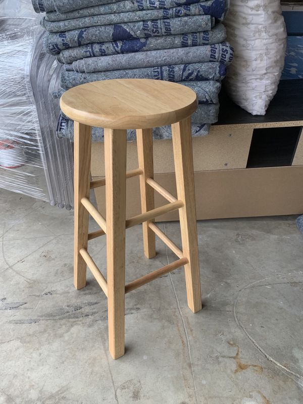 Computer and stools
