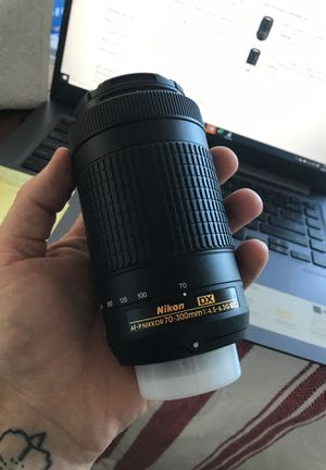 Nikon 70-300mm DX lense for Sale in Wilmington, NC