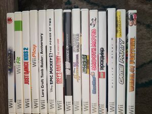 15 wii games for Sale in Pontiac, MI