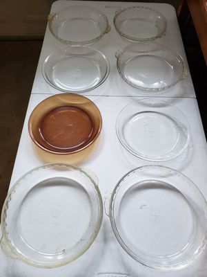 8 Glass Pie Pans for Sale in Gresham, OR