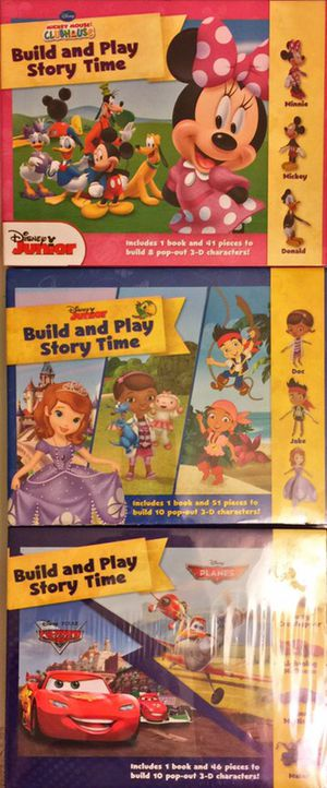 Build and Play Story Time With 3D Puzzle Pieces from the seller of Math is a Game Counting and Play Set for Sale in Chesapeake, VA