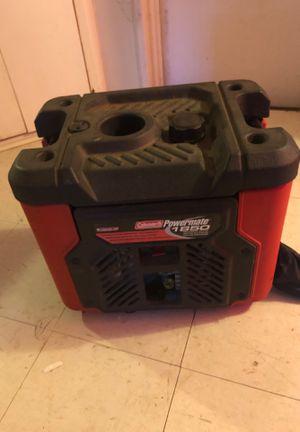 Generator Colman lightly used easy to start for Sale in White Mountain Lakes Estates, AZ