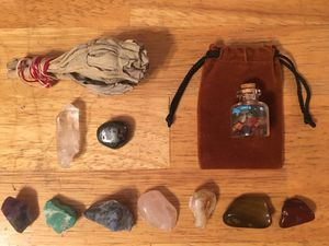 Natural Chakra Stones & Sage for Sale in CORNWALL Borough, PA
