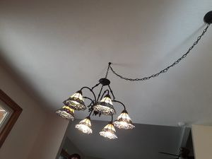 Tiffany style chandelier for Sale in Moreno Valley, CA