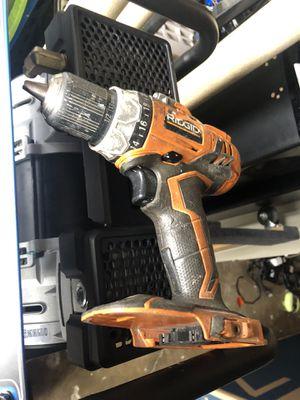 Ridgid 18v drill only for Sale in San Juan Capistrano, CA