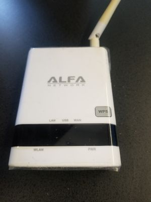 ALFA R36A Portable Wireless 802.11n WiFi USB Router for AWUS036NH AWUS036NEH R36 for Sale in Phoenix, AZ