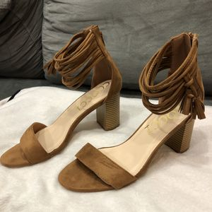 Short chunky heels ( size 10) for Sale in Normal, IL
