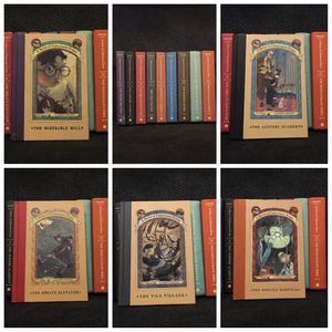 Partial Set of Lemoney Snicket Books for Sale in Rex, GA