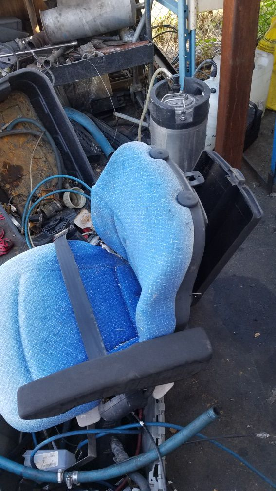 Forklift seat new never used